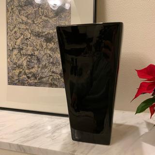 黒陶器フラワーベース