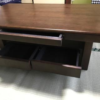 和風のテーブル