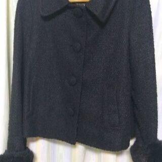 ★黒のコート・無料
