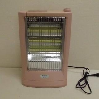 ナショナル 遠赤外線 電気ストーブ MAX960W ピンク系 D...