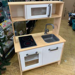 IKEA イケア おままごとキッチン バーチ材 DUKTIG ド...