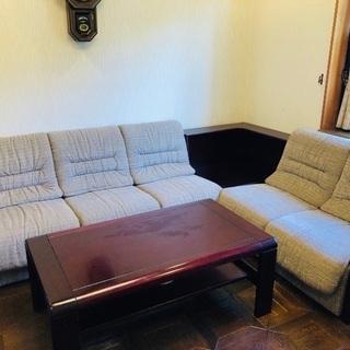 カリモクのソファーセット