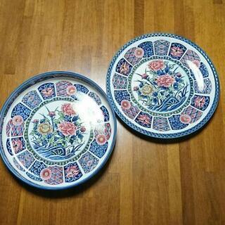 花柄 大皿 深皿 セット