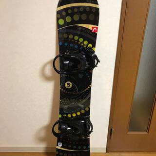 HEADスノーボード&バインディングセット