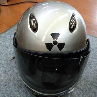 中古 YAMAHAバイクヘルメットL ヘッドフォンつき