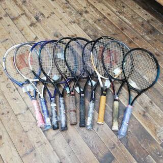 テニスラケット 10本