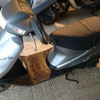 87台目 スズキ アドレス100 実働 整備品 原付 バイク