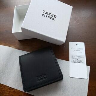TAKEO KIKUCHI / タケオキクチ 小銭入れ ブラック
