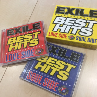 EXILEアルバム「BEST HITS LOVE SIDE/SO...