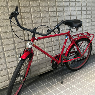 赤い自転車 ※150円でお譲りします ※お返事できずに申し訳ござ...