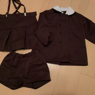 ひまわり幼稚園の園服 サイズありますよー