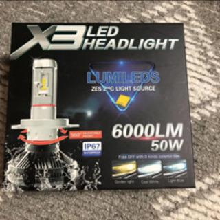 LED フォグバルブ HB4 6000LM 50W
