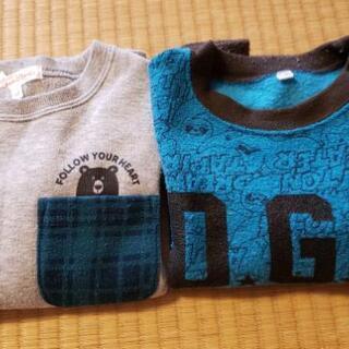 Tシャツ【100㎝】二枚セット