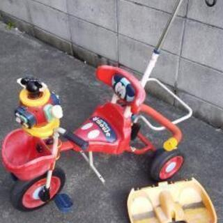 ミッキーの三輪車