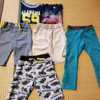 Tシャツ&ズボンの6点セット【値下げ】