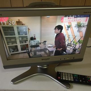 シャープAQUOS 液晶カラーテレビ lc16es シルバー リ...