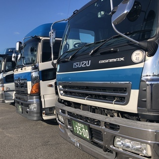 【アルバイト】4t近距離トラックドライバー