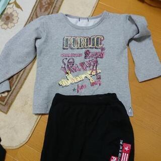 子供服トレーナー150、ズボン160