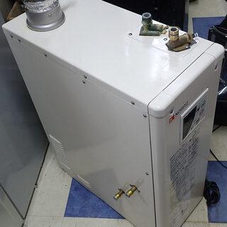 札幌市 ノーリツ ボイラー 石油給湯器付きふろがま 煙突式 OT...