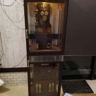 KT4-FN電話機 浪漫電話+コロンビアステレオ+電話ボックス