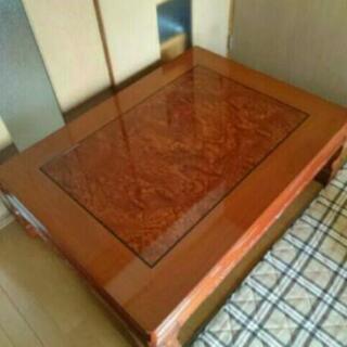 値下げ‼  美品⭐  高級座卓 ローテーブル こたつ ♪ …