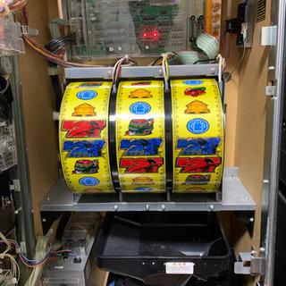パチスロ実機 モンスターハンター月下雷鳴 コイン不要機