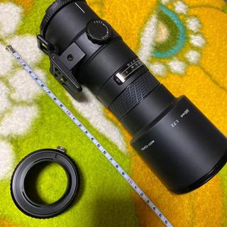 シグマ AF500mm望遠レンズ