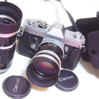 フィルムカメラ 一眼レフ キャノン FT  レンズ2本 セット