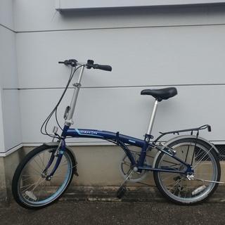 (値下げしました) - ダホン SUV D6 折りたたみ自転車