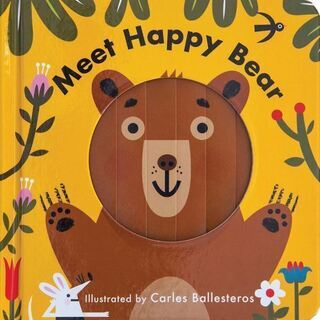 英語絵本「Meet Happy Bear」
