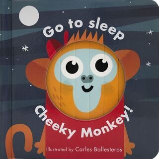 英語絵本「Go to Sleep, Cheeky Monkey」
