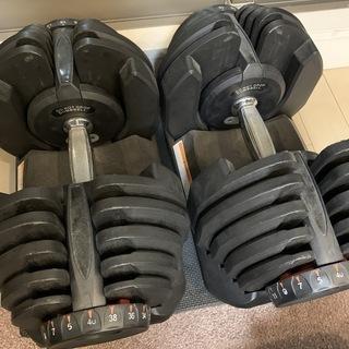 可変ダンベル 40kg x 2 (合計80kg)