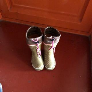 子供の長靴