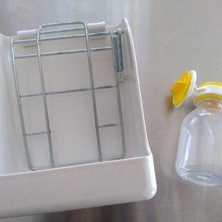 うさぎ 小動物 餌入れ&給水器