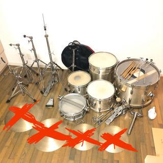 ドラム タマ セット スネア バスドラム ヴィンテージ ROGE...