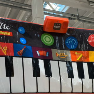 ジャイアント キーボードプレイマット Gigantic Keyb...