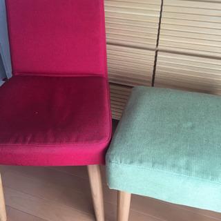 中古品の椅子ですの画像
