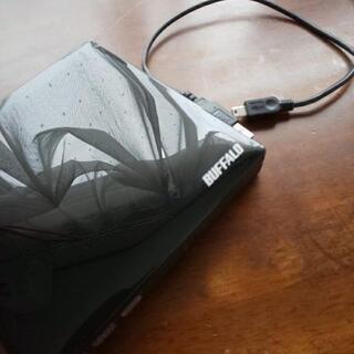 BUFFALO USB2.0用 外付けポータブルDVDドライブ ...