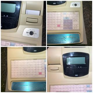 TEC テック 電子レジスター レジ FS-660