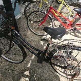 (取引中)自転車、ママチャリ(錆びなどあり)