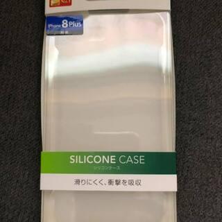新品未使用未開封 iPhone7plus 8plusシリコンケース