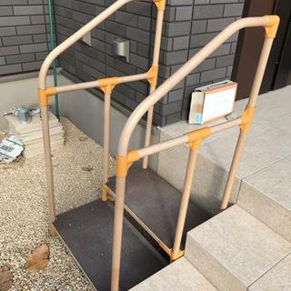 介護用・置きタイプ階段手すり付き