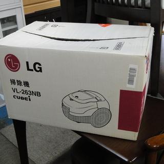 LG 紙パック式 電気掃除機 VL-263NB CUBEi…