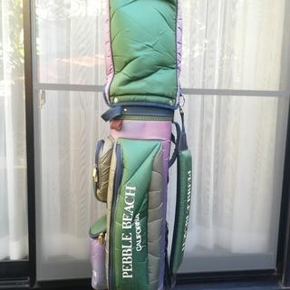 【無料】中古ゴルフキャディバッグ(緑色)
