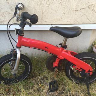 へんしんバイク 赤 工具付