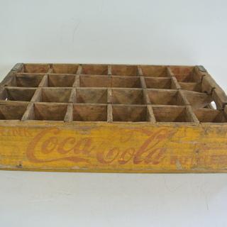 コカ・コーラの木箱 ボトルケース ビンテージ アメリカン雑貨