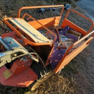 運搬機と草刈機 - その他