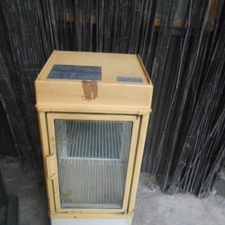 レトロ 冷蔵庫 業務用 サンデン 店舗用 小物入れ ジャンク 中古