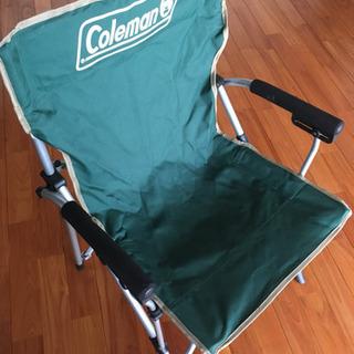 【Coleman】キャンピングチェア 2個セット アルミ製