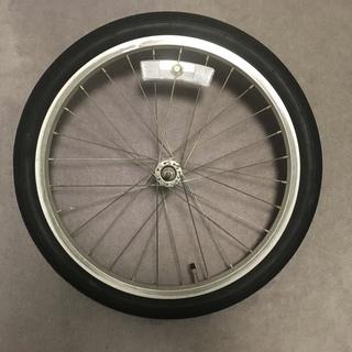 自転車20インチ前輪ホイールタイヤセット